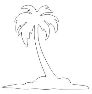 Best 25 dessin de palmier ideas on pinterest impression - Palmier dessin ...
