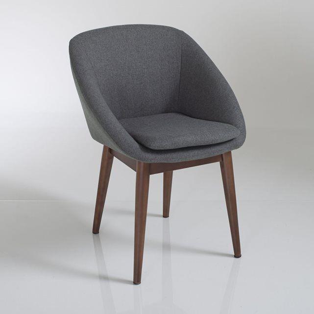 Fauteuil de table Watford La Redoute Interieurs : prix, avis & notation, livraison.  Le fauteuil de table Watford : avec ses accoudoirs enveloppants ce fauteuil de table ou de bureau revendique clairement son penchant pour le confort et le style !Dimensions du fauteuil de table Watford :Longueur : 56 cm Hauteur : 79 cmProfondeur : 54 cmAssise : L33 x H49 x P43 cmDescription du fauteuil de table Watford :Structure d'assise en contreplaqué et acier.Suspension par sangles élastiqu&#23...
