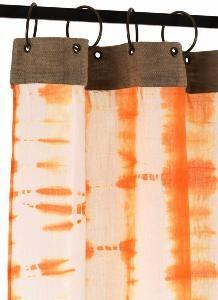 Rideaux Tie & Dye Orange