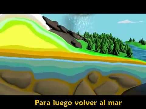 video ciclo del agua muy chulo