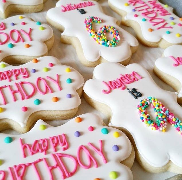 Adorable birthday cookies!