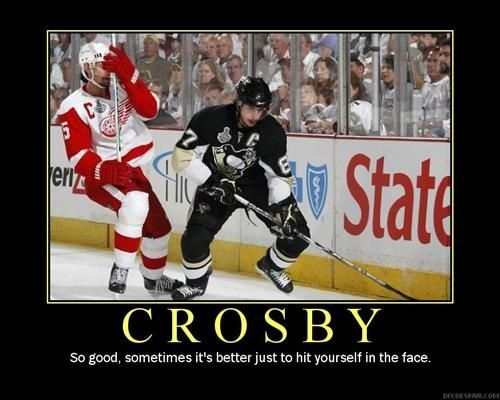 CROSBY IS THAT GOOD