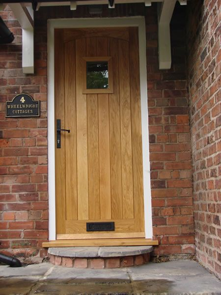 Front doors chester cheshire bespoke wooden doors for Custom made wood doors