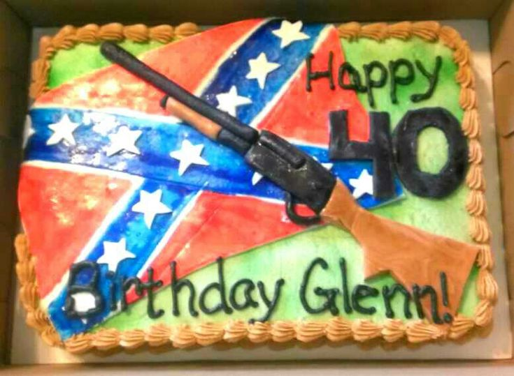 Redneck birthday cake