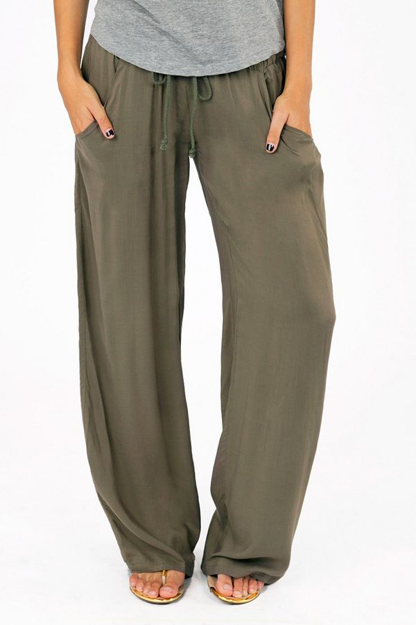 In Living Lounge Pants.... these just look comfy as fawk