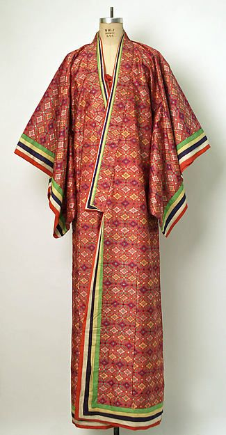 Court dress (image 1) | Japanese | 1895-1900 | silk | Metropolitan Museum of Art | Accession Number: 1975.294.3