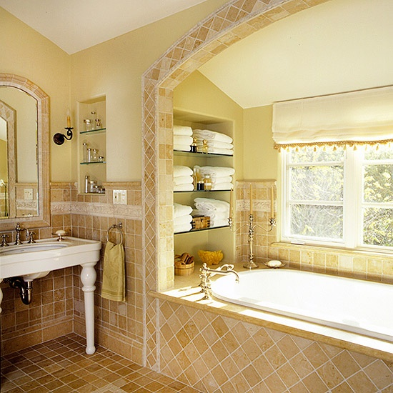 Bathroom Open Wall Shelves: 31 Best Niches And Recessed Shelves Images On Pinterest