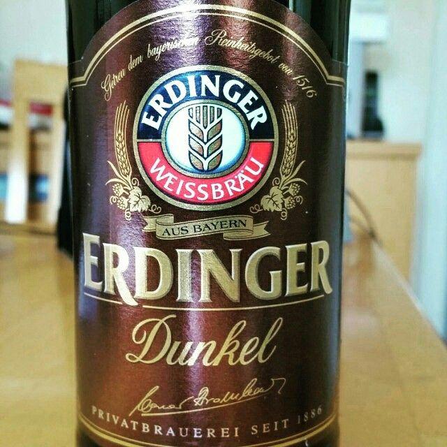 Erdinger Dunkel by Erdinger Weissbräu #untappd | Beer ...