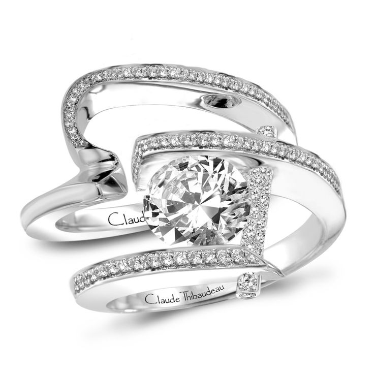 1000 Ideas About Pave Wedding Bands On Pinterest