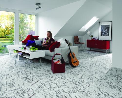 Tarkett vinyl sheet flooring