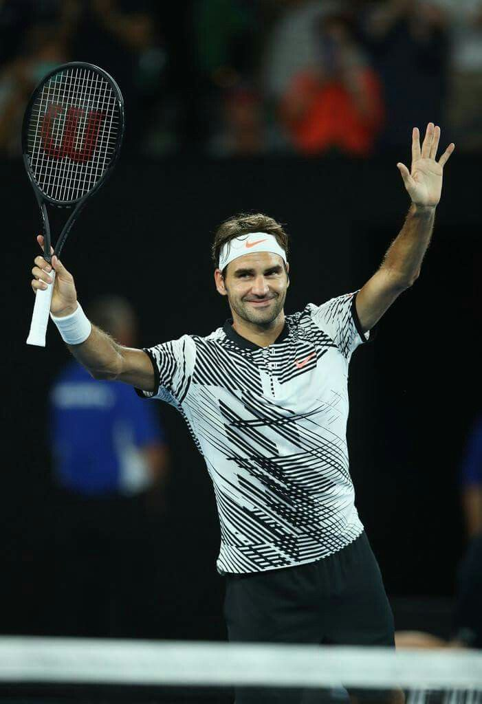 Roger Federer vs Jürgen Melzer  Australian Open 2017 - 16 Janvier 2017