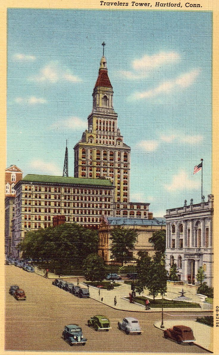 Travelers Tower in Hartford, Connecticut, USA | Sygic Travel