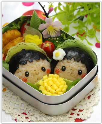【連載レシピ】キャラ弁講座3*基本のお顔おにぎり。 :: *3兄妹ママのお弁当ブログ*|yaplog!(ヤプログ!)byGMO