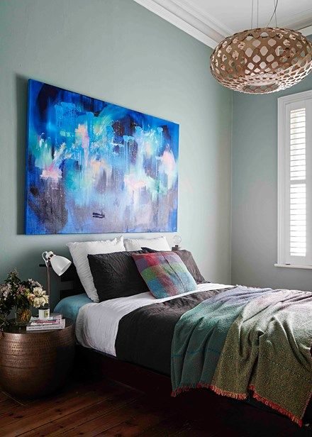 An amazing art collection sets the tone throughout the house | Home Beautiful Magazine Australia