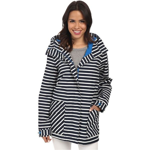 Hatley Soft Shell Rain Jacket Women's Jacket, Gray ($120) ❤ liked on Polyvore featuring outerwear, jackets, grey, hatley, waterproof rain jacket, grey jacket, zip up jacket ve rain jacket