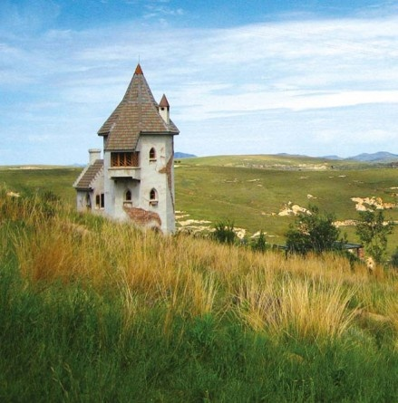 Live like royalty. Rapunzel's Tower, Clarens, Western Cape.