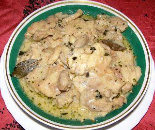 W Mojej Kuchni Lubię.. : bitki z indyka w sosie śmietankowym z czosnkiem ni...
