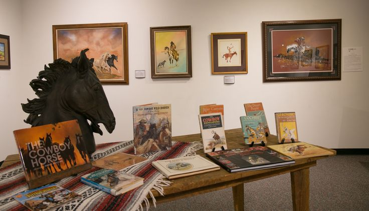 Exhibit featuring the horse as art in paintings, sculptures and in books and photography. Aug. 22 - Dec. 22, 2016, Chisholm Trail Heritage Center, Duncan, OK