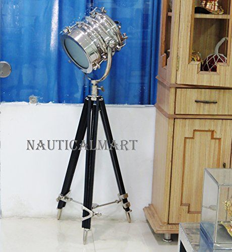 102 best designers industrial searchlight floor lamp images on nauticalmart industrial huge nautical spot searchlight vi https aloadofball Image collections