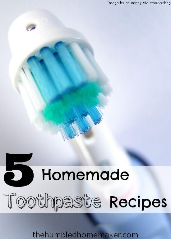 5 Homemade Toothpaste Recipes