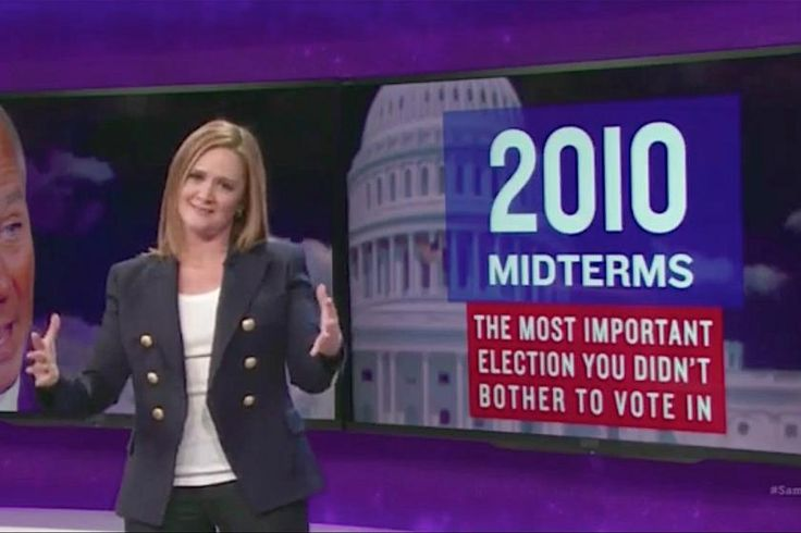 """Presidential elections are like children: They're all the most important,"" said Samantha Bee on Monday's Full Frontal. If you listen to the Republican presidential candidates, 2016 is no different, meaning it is the most important election in at least decades. ""But actually, the most important election in modern times already happened,"" she said, teasing her audience with footage of Barack Obama's first presidential victory. ""Calm your smug tits, Democrats, the most important election of…"