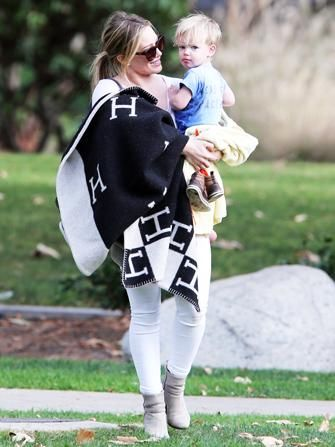 Hilary Duff and her son are just too adorable.