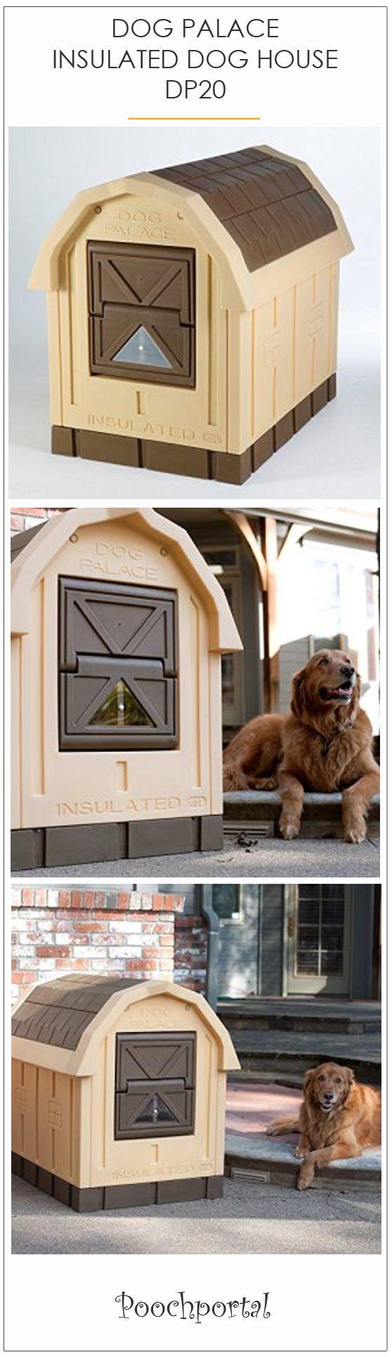 DOG PALACE INSULATED PLASTIC DOG HOUSE DP20
