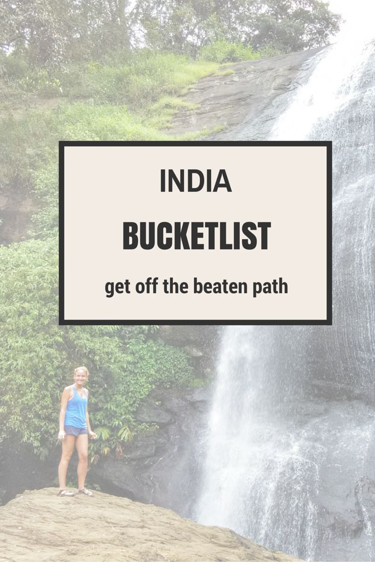 The ULTIMATE bucket list of things to do while in India - so you can make sure you don't miss any of the good stuff. Even better, Indian readers commented more secret thigns to do! #Travel #India