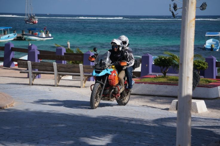 "The pillion in a million! See all the stories about that motorcycling nirvana called Mexico on our Ferris Wheels Motorcycle Safaris Tacos 'n' Tequila tour. Just go to motorbike writer.com and search for ""Mexico""."