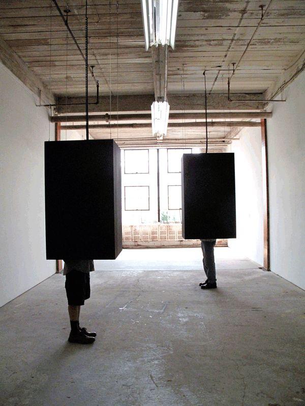 Isolation Theaters - video/sound installation.