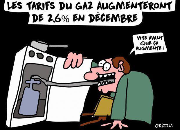 Les tarifs du gaz augmenteront de 2,6% en décembre - AgoraVox le média citoyen