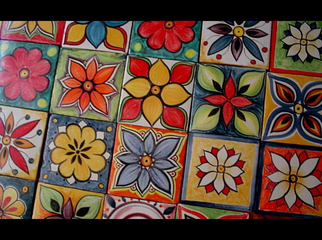 Azulejos mexicanos.
