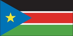 South Sudan flag - August to ?? 2011 - update included a north orientation of the 5-pointed star.
