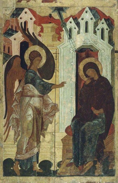 Благовещение Пресвятой Богородицы. XVI в. Новгород