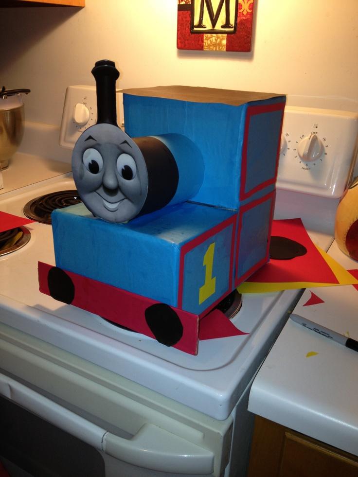Thomas the Train Valentine box