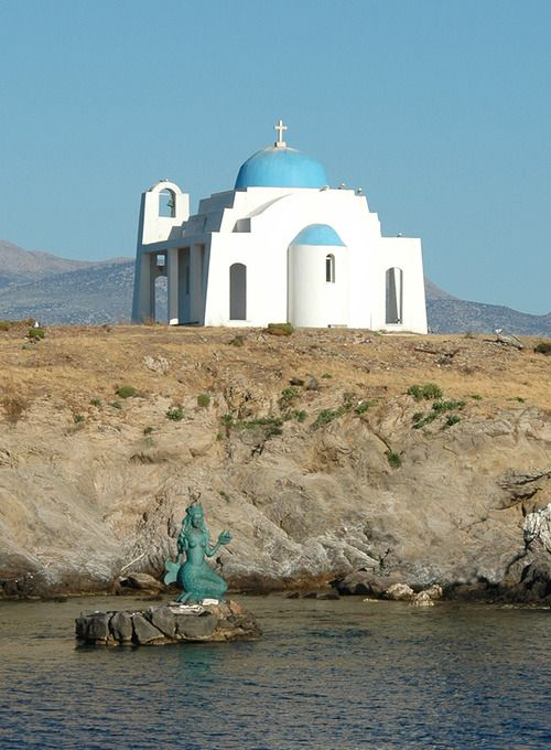 Oinousses, tiny island near Chios, Greece