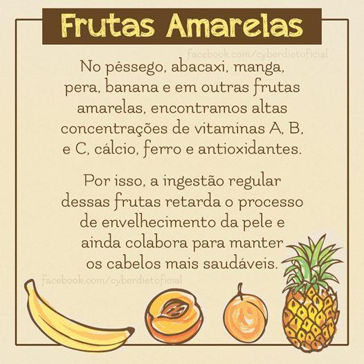 Consuma mais frutas amarelas!