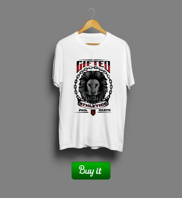 Gifted   Phil Heath Gifted Nutrition training bodybuilding бодибилдинг футболка tshirt