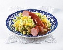 Sperziebonenstamppot met ananas recept - Hollands - Eten Gerechten - Recepten Vandaag