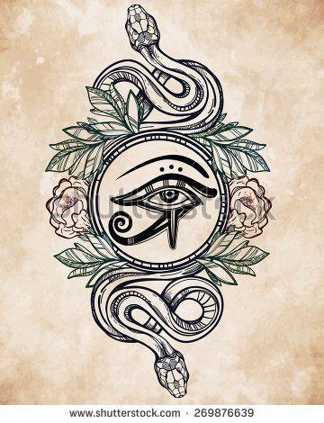 eye of ra pyramid tattoo - Google Search
