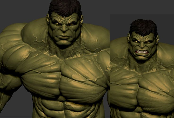 Hulk - Collectible Statue, Bruno Camara on ArtStation at https://www.artstation.com/artwork/hulk-c5fc9d80-29f0-4ce8-bcfd-7cdfd221f181