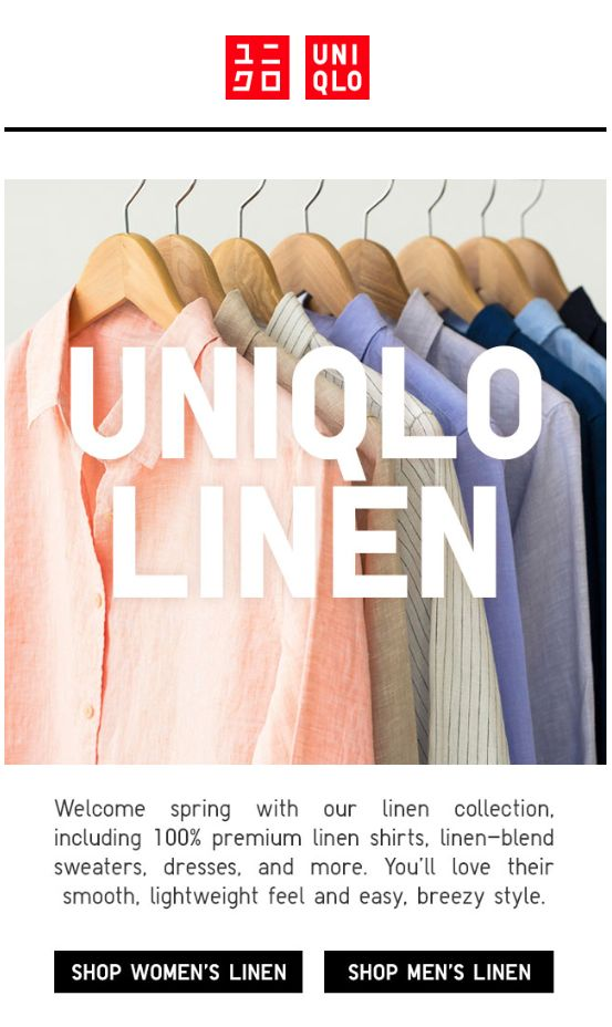 Uniqlo - Clothes with built-in A/C