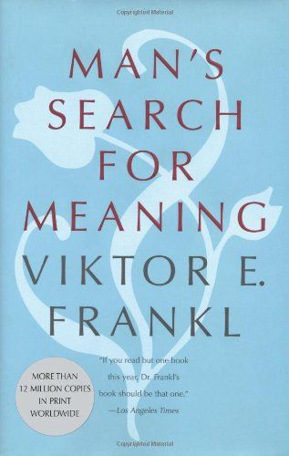Powerful book and one that I wish everyone would read.  Man's Search for Meaning: Gift Edition by Viktor E. Frankl http://www.amazon.com/dp/0807014265/ref=cm_sw_r_pi_dp_ESf5tb0TGX6K8