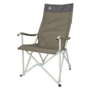 Coleman Sling Chair The Coleman Sling Chair is an ergonomically designed foldable chair with a high back to offer you an excellent and comfortable chair ideal for camping caravanning and for using in the garden and at pi http://www.MightGet.com/january-2017-11/coleman-sling-chair.asp