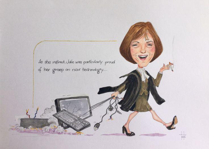 Ta ta dear Julie! Happy retirement 😁