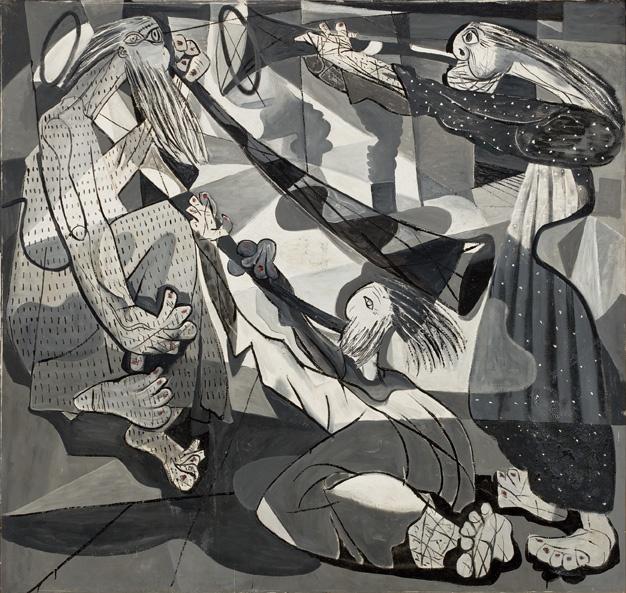 Candido Portinari. As Trombetas de Jericó (Série Bíblica), 1943