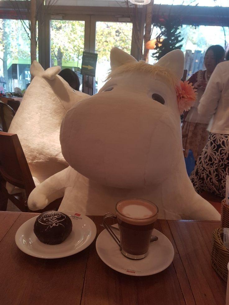 Moomin Cafe Japan 🇯🇵☕🥐