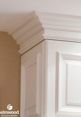 """*Moulding Monday* An applied moulding door like our """"Savannah"""" as used here calls for a significant moulding stack. Here we have EK301 on a EK336 stacker,..."""