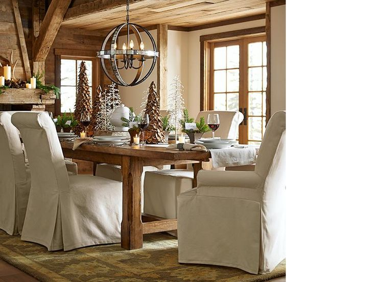 Pottery Barn Dining Table Decor: 45 Best Images About Pottery Barn CHRISTMAS On Pinterest