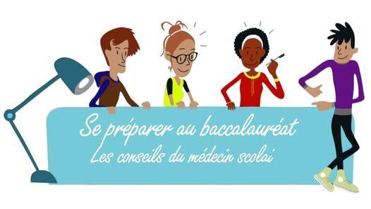 Baccalauréat : les conseils du médecin scolaire